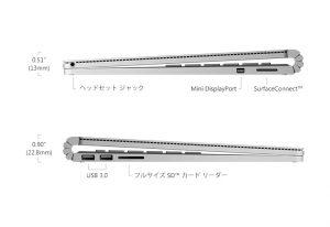 Surfacebook インターフェース